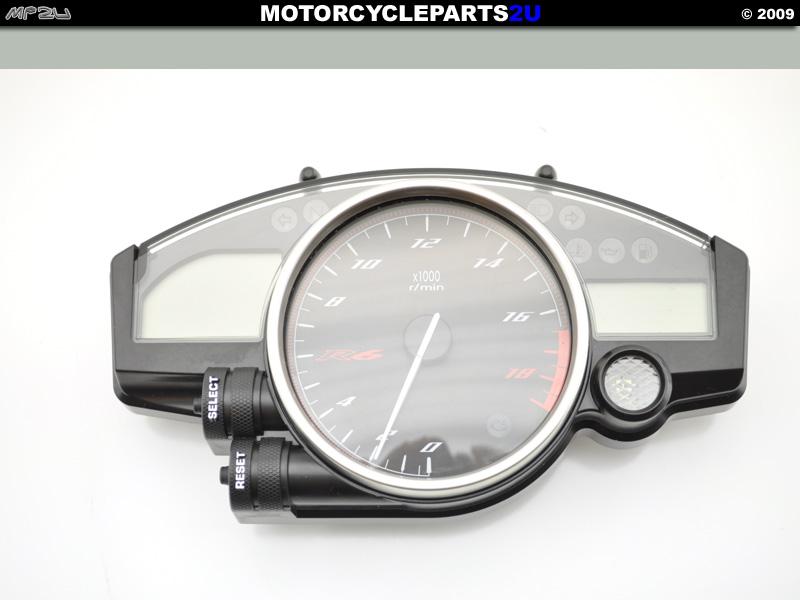 2008 Yamaha R6R Speedometer