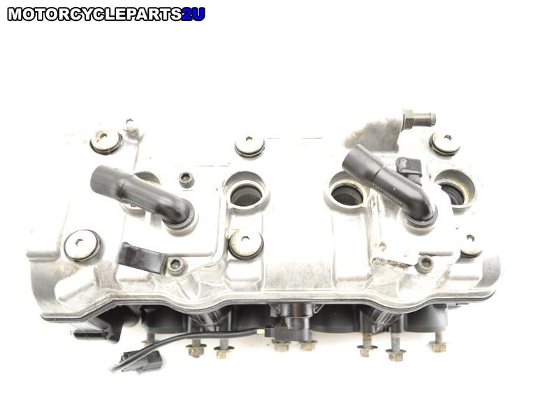 2007 Ninja ZX6R cylinder head assembly shims in place