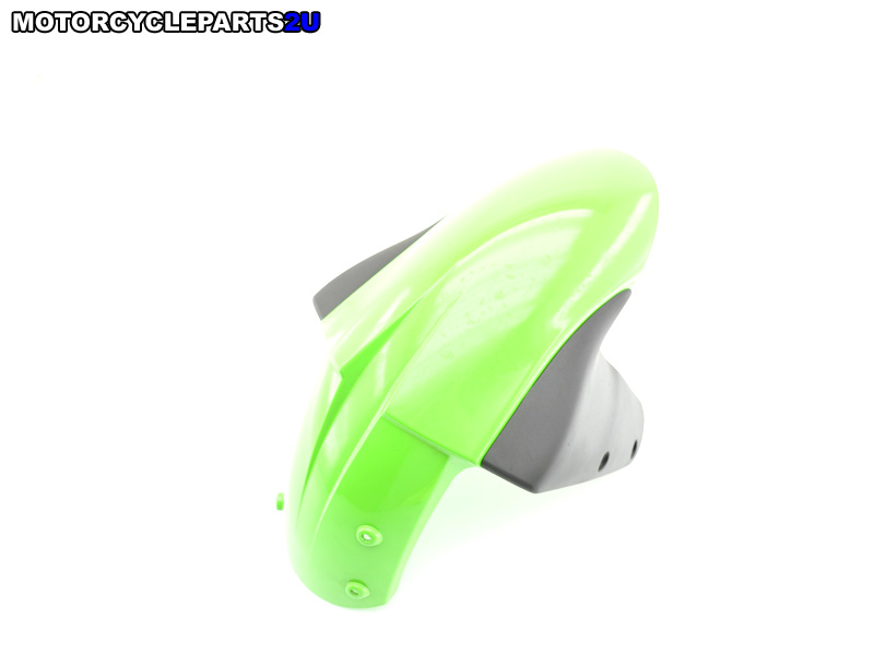 2008 Kawasaki ZX6R Lime Green Front Fender