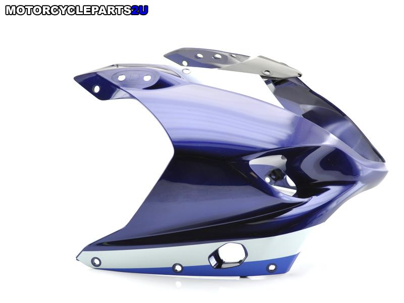 2003 Suzuki GSX-R1000 Blue White Front Fairing