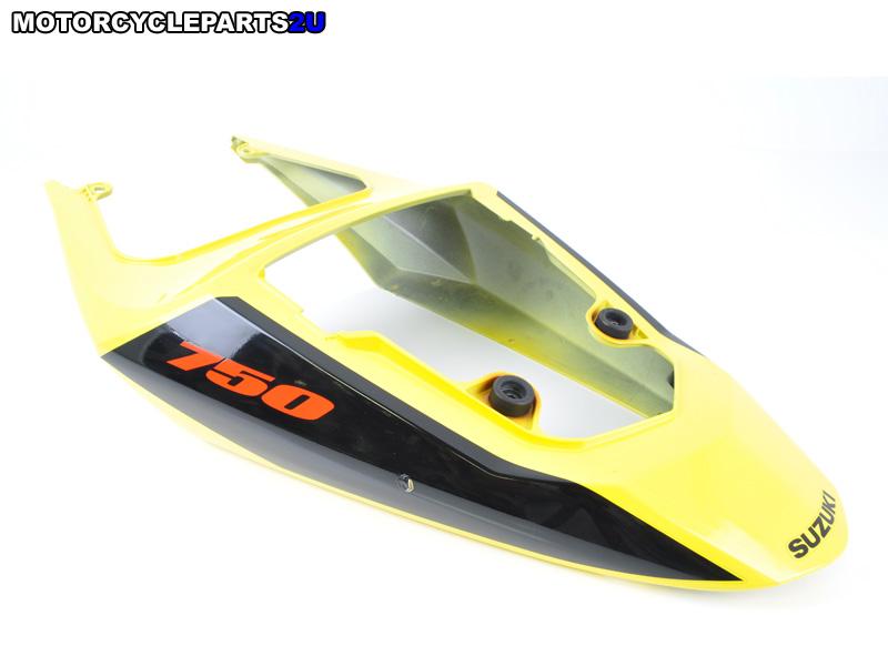 2004 Suzuki GSX-R750 Yellow Rear Tail Fairing