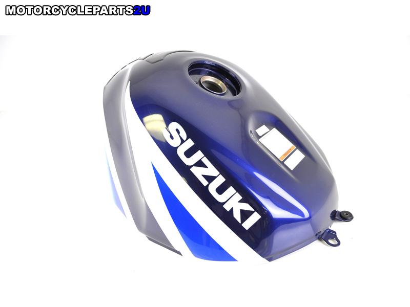 2003 Suzuki GSX-R1000 Blue White Gas Tank