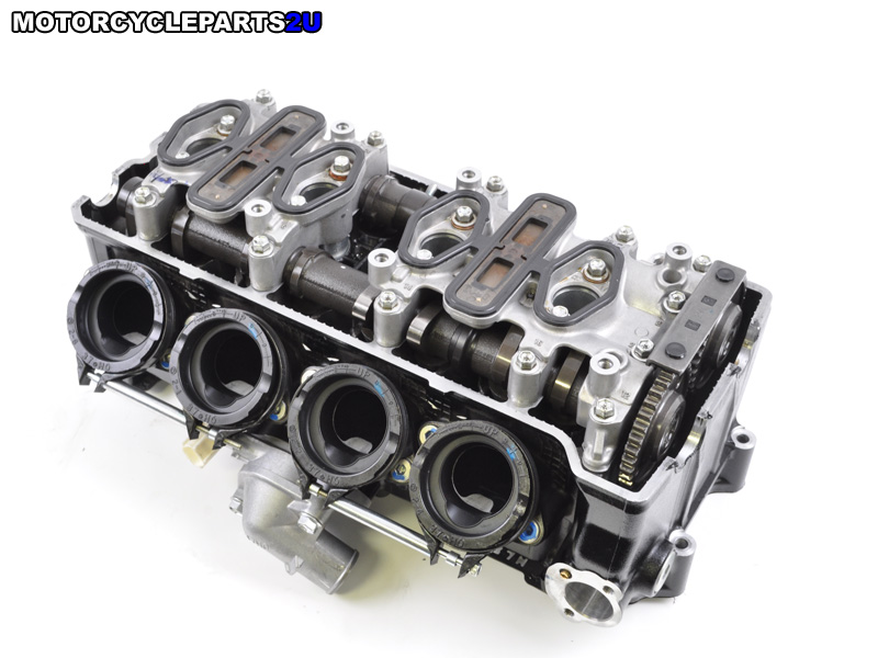 2008 Suzuki GSX-R600 Cylinder Head Assembly Shims in Place