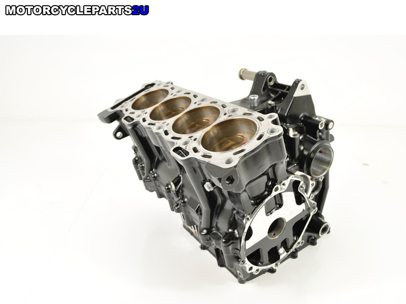 2008 Kawasaki ZX10R Crankcase with Pistons