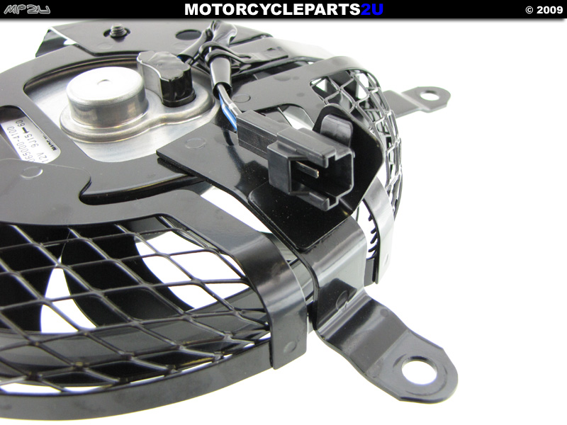 2009 Suzuki GSX1300R HAYABUSA Left Radiator Fan