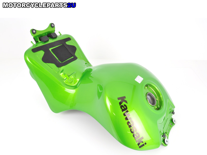 2009 Kawasaki ZX14 Candy Lime Green Gas Tank