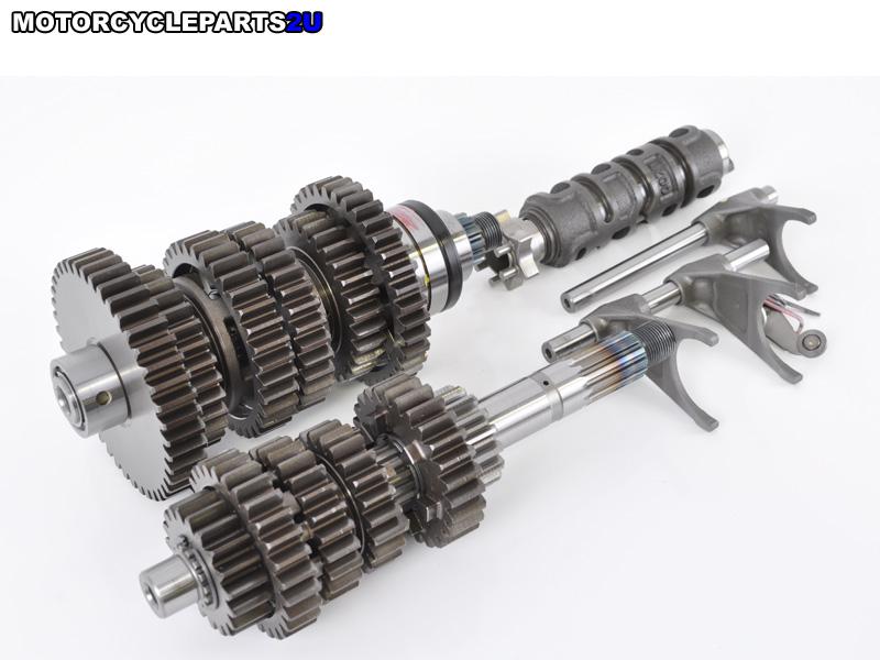 2009 Kawasaki ZX14 Transmission
