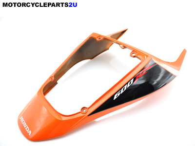 2008 Honda CBR600RR Orange Black Rear Tail Fairing