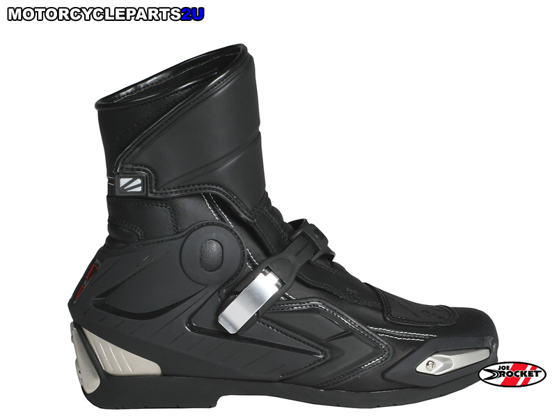 757 1007 joe rocket black super streetbike boots
