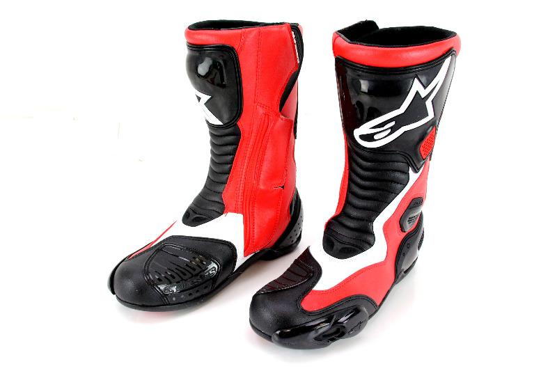 alpinestars s mx 5 boots 5us 38euro black red. Black Bedroom Furniture Sets. Home Design Ideas