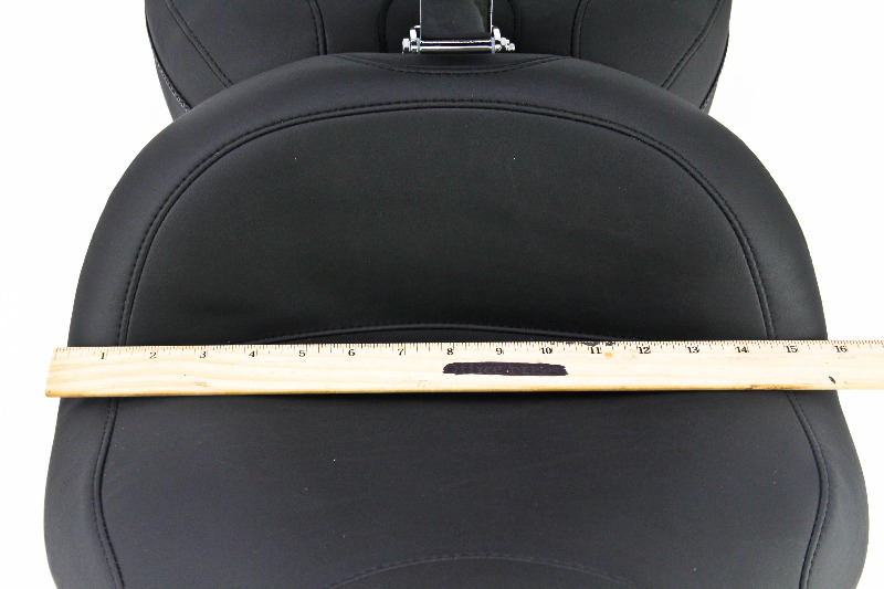 Mustang Lowdown Touring Seat With Driver Backrest 79703 Ebay