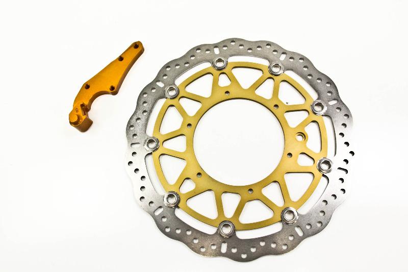 Brake Rotor Rivets : Ktm sxc ebc supermoto mm front brake rotor