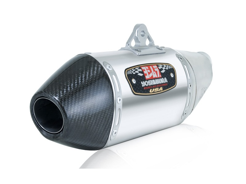 Yoshimura rs street series slip on muffler carbon