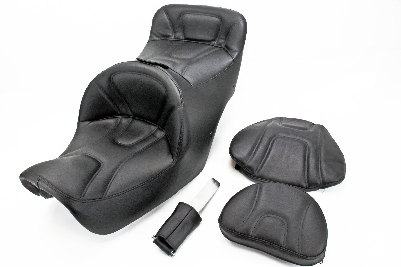 Admirable Saddlemen Road Sofa Seat With Driver Backrest Motorcycleparts2U Home Interior And Landscaping Ologienasavecom