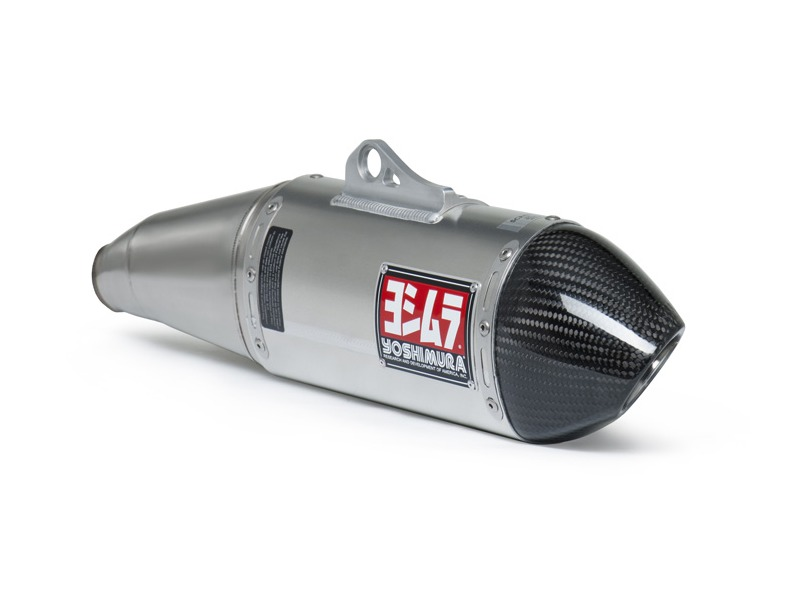 Yoshimura rs enduro slip on aluminum w carbon fiber