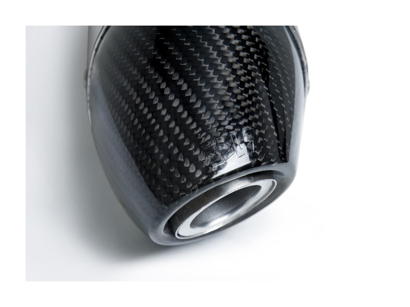Yoshimura rs race slip on stainless w carbon fiber end