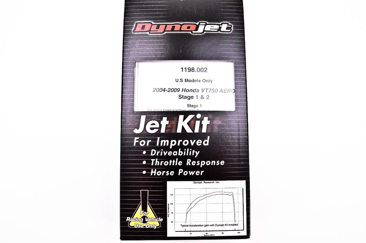 Dynojet Stage 1 and 2 Jet Kit   MotorcycleParts2U