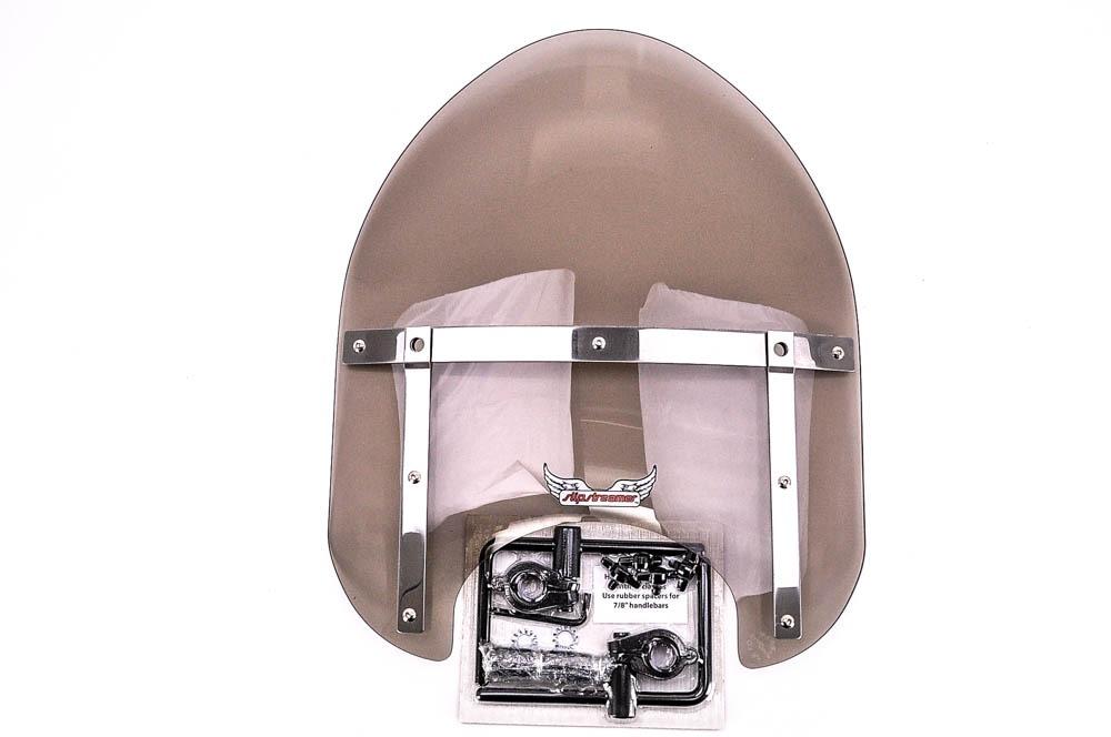 Mini Bike Windshield : Slipstreamer smoke mini police windshield motorcycleparts u