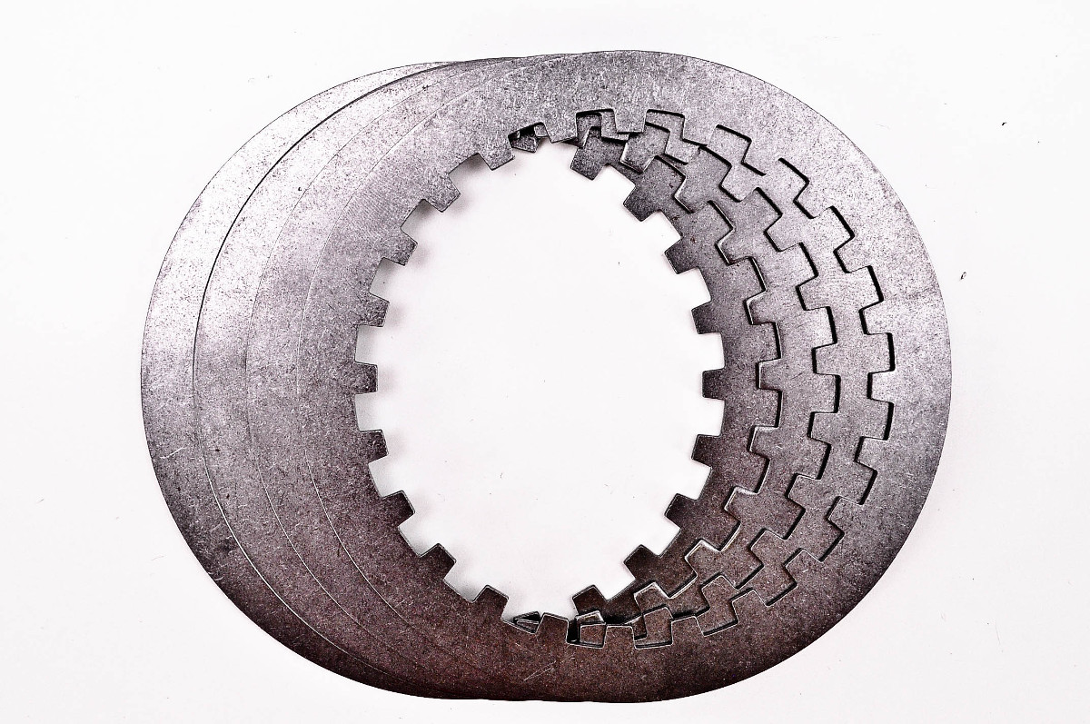 Steel Clutch Plate : Honda sl barnett steel clutch plates kit
