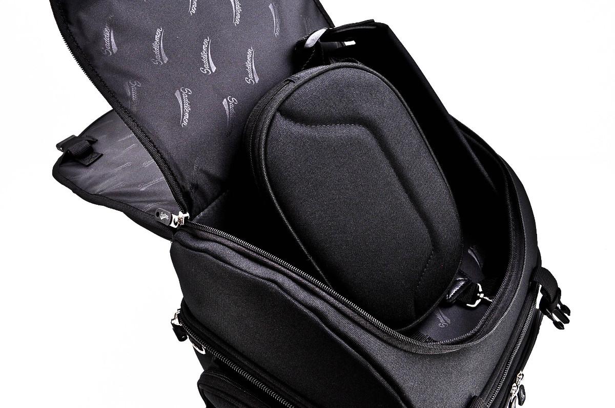 saddlemen br3400 back seat or sissy bar bag | motorcycleparts2u