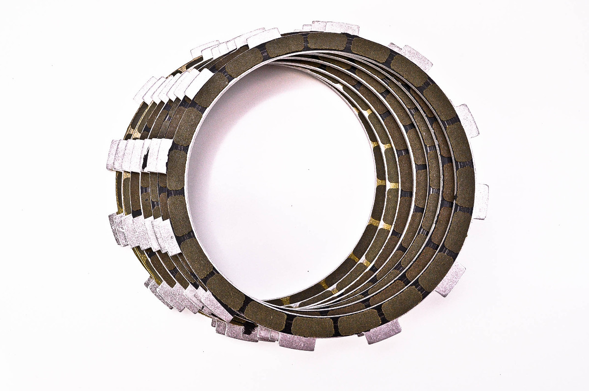 Steel Clutch Plate : Suzuki t titan barnett friction and steel clutch