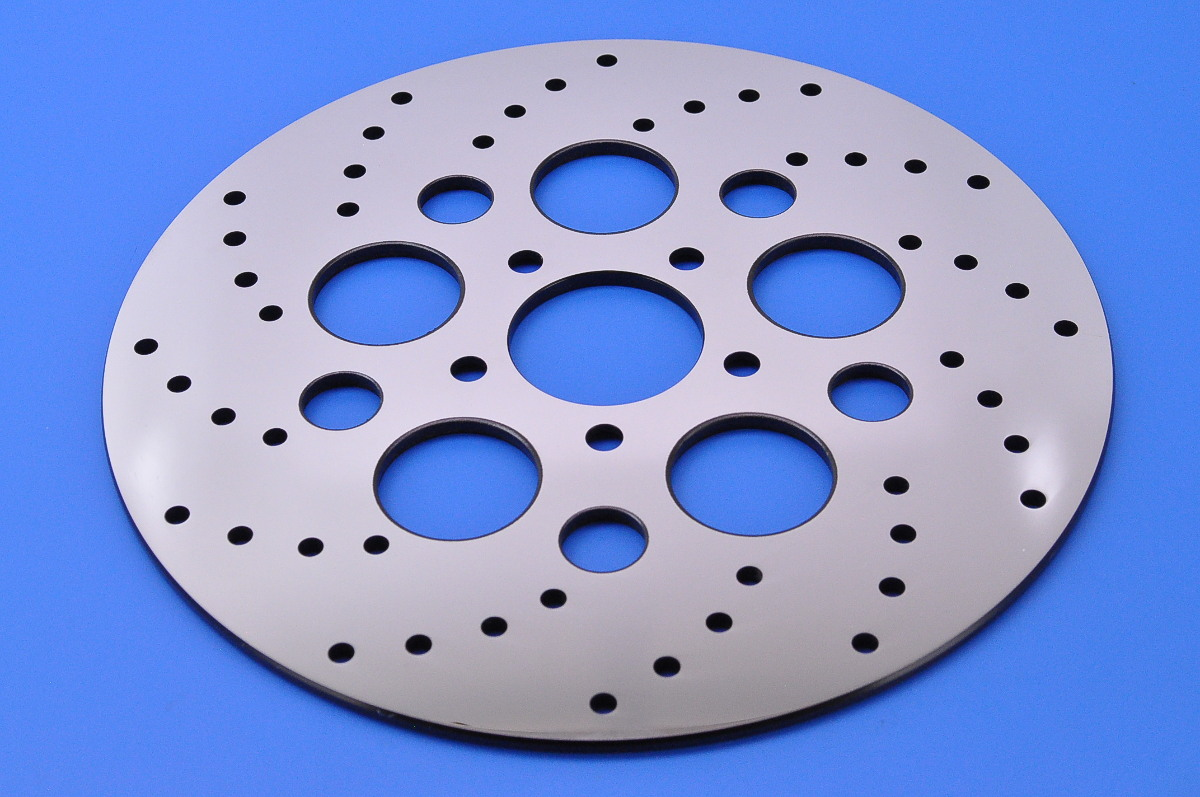 Stainless Brake Rotors : Pro one polished stainless steel rear brake rotor