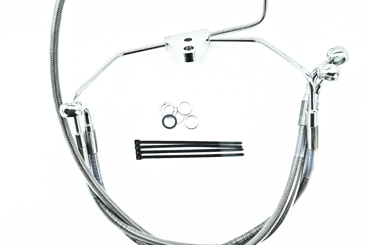 Pu Drag Specialties Extended Front Brake Line Kit