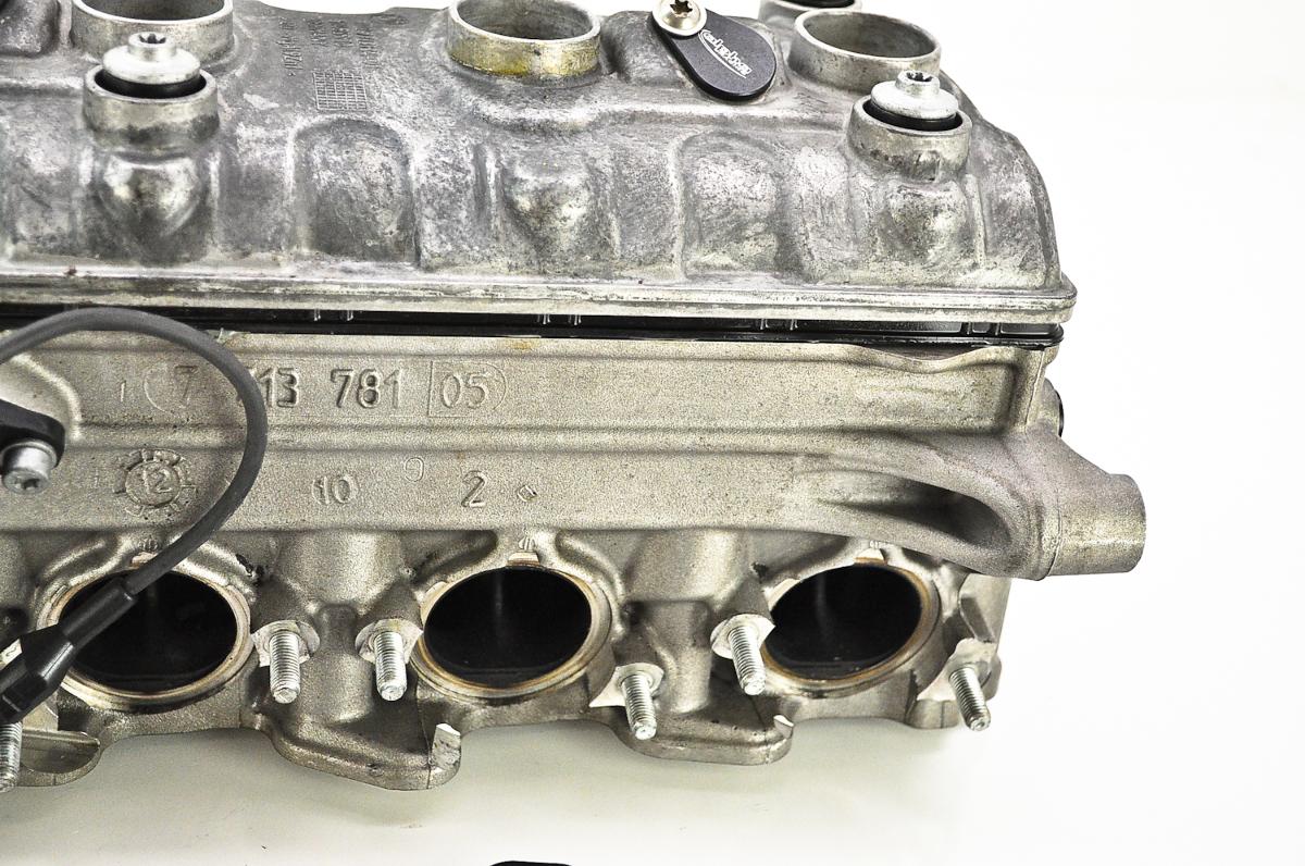 Cylinder Head Assembly : Cylinder head assembly shims in place motorcycleparts u