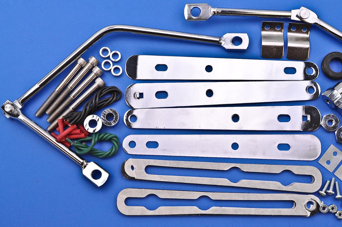 spalding universal mounting bracket instructions
