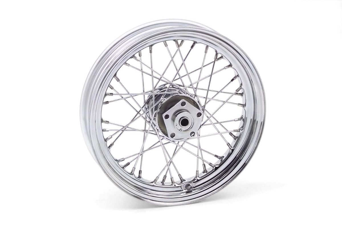 Dual Wheel Parts : Bikers choice quot dual flange wheel ebay