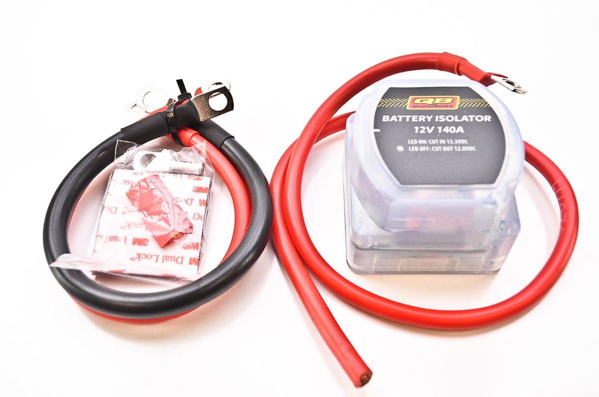 Atv Wiring Kit Change Your Idea With Diagram Design Warn Winch Quadboss Battery Isolator Dbk R12140b Build Own