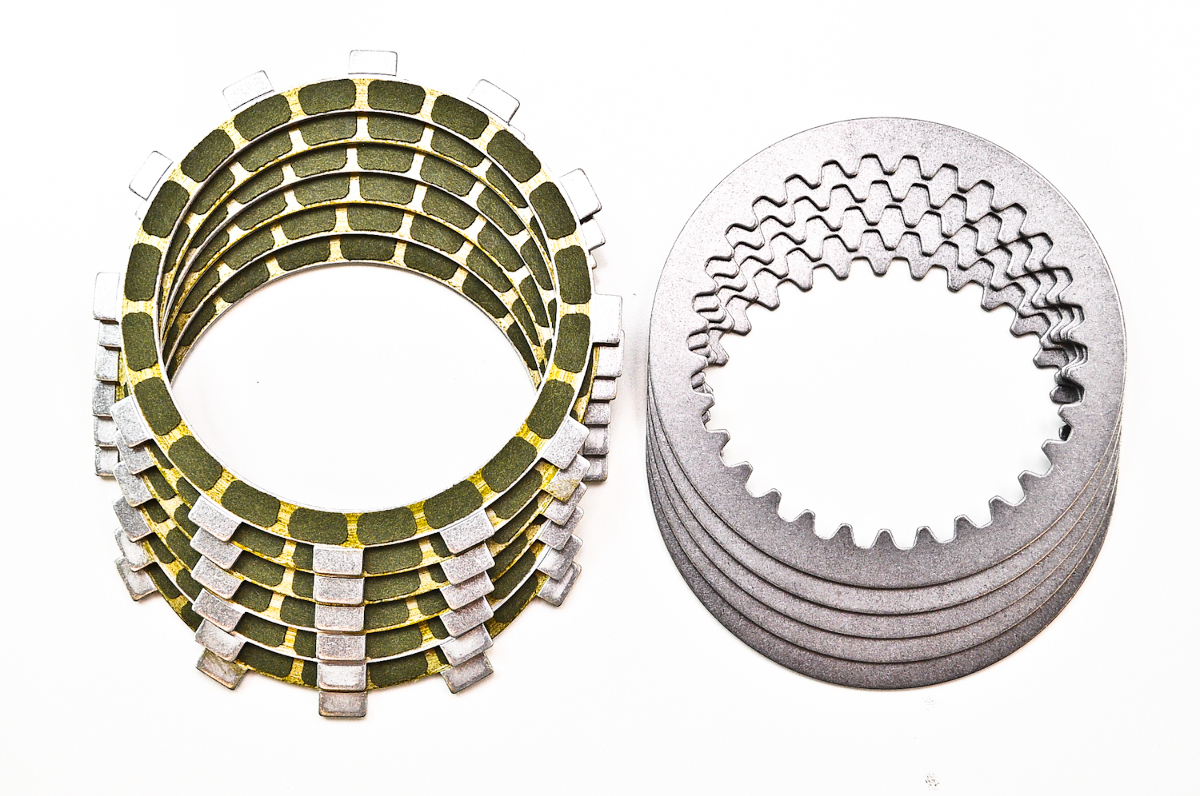 Steel Clutch Plate : Suzuki rm barnett friction and steel clutch plate