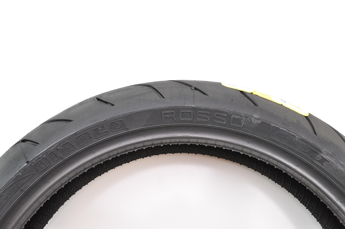 pirelli diablo rosso ii front tire 120 70zr 17 tl 58w. Black Bedroom Furniture Sets. Home Design Ideas
