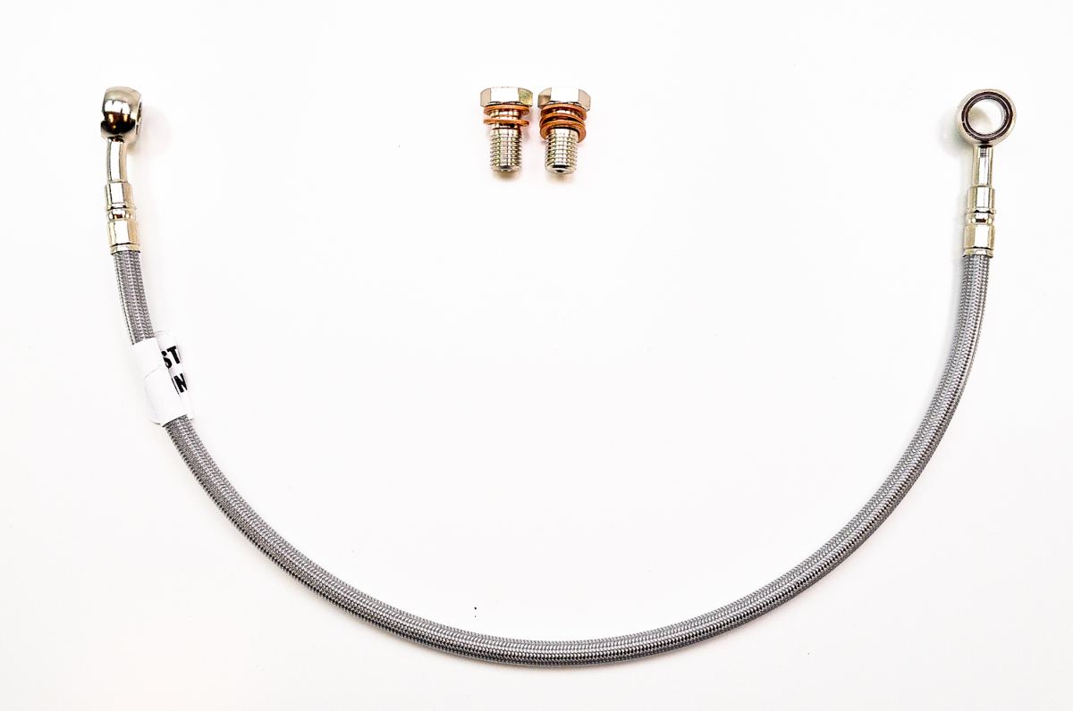 how to clean brake lines