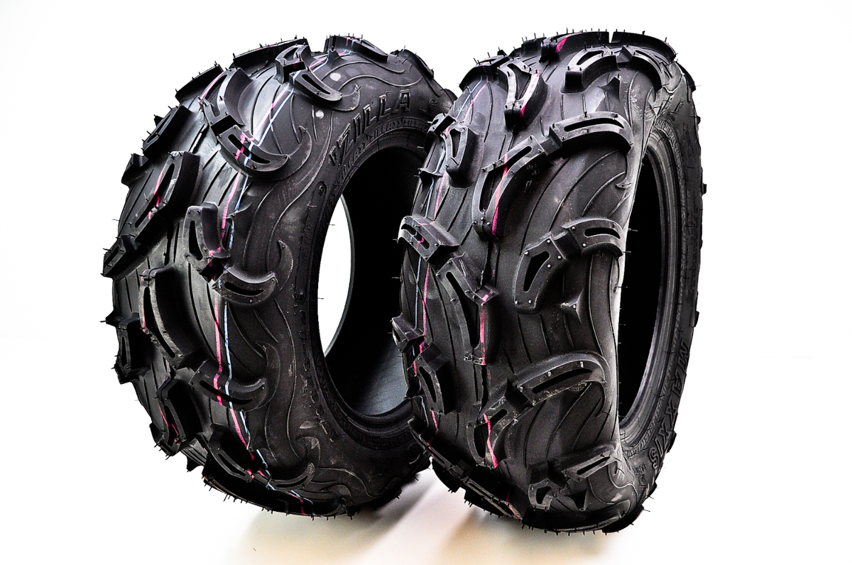 Maxxis MU01 Zilla Front Tires 28x10-12 (6 Ply) (2 Tires) TM00453100 ...