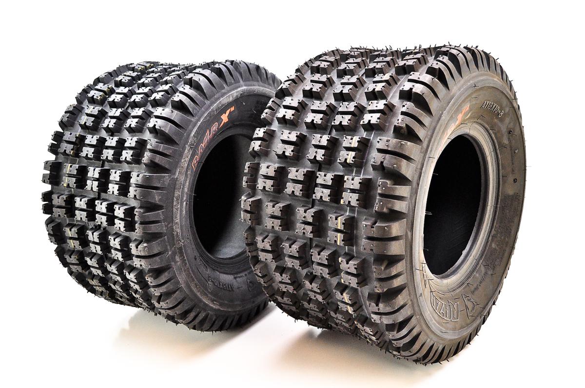 Suzuki Tire Size >> Maxxis RS08 Razr XM Rear Tires 18x10-8 (2 Ply) (2 Tires) TM00273100 | eBay