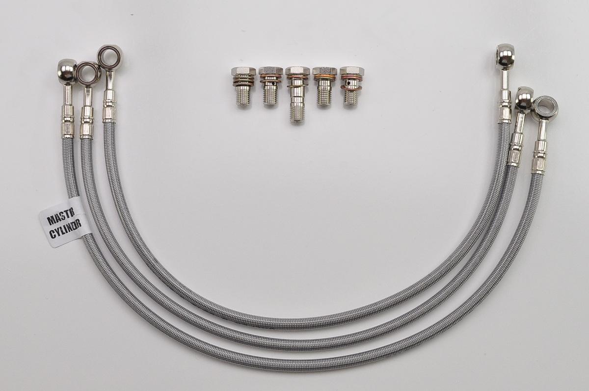 1980 Honda Cb750f Stainless Brake Line : Cb f supersport galfer line front brake kit
