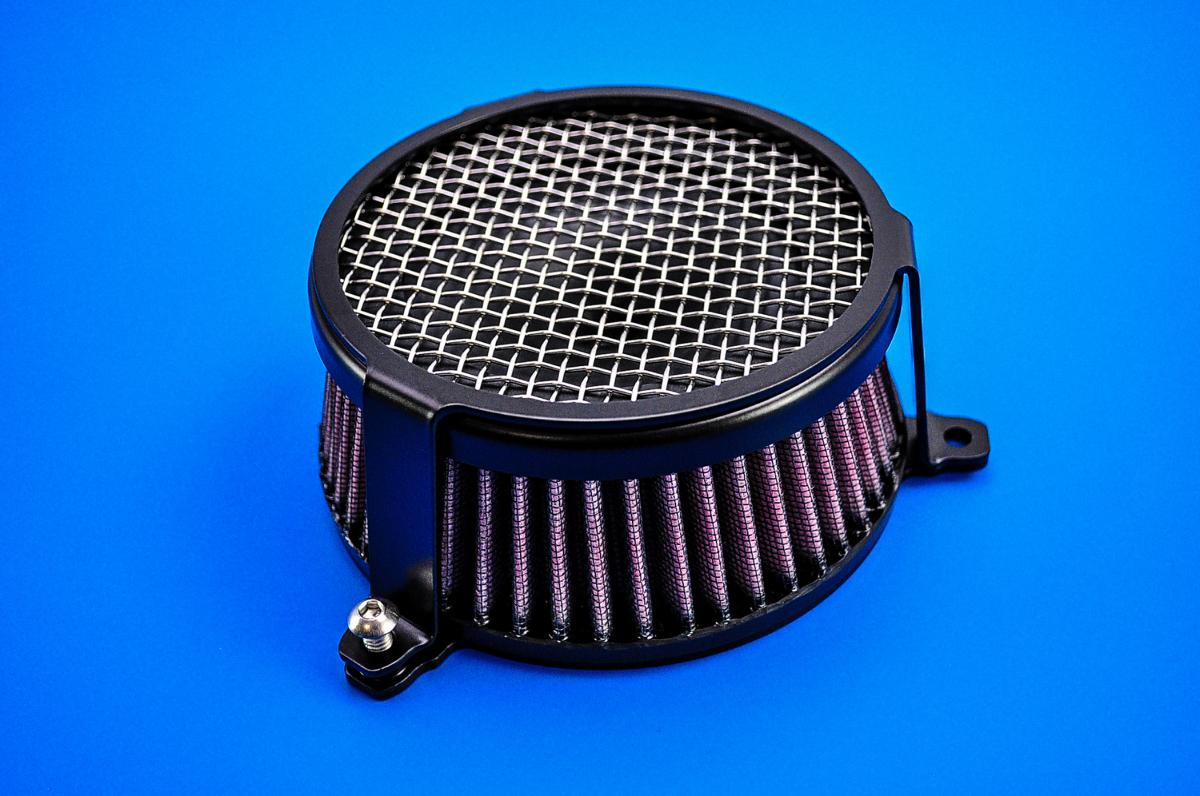 Cobra Air Cleaner : Yamaha bolt cobra black plain air cleaner kit