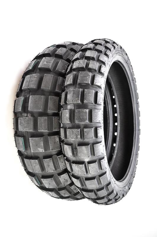 continental twinduro tkc80 front rear tire set 120 70q 17 180 55q 17. Black Bedroom Furniture Sets. Home Design Ideas