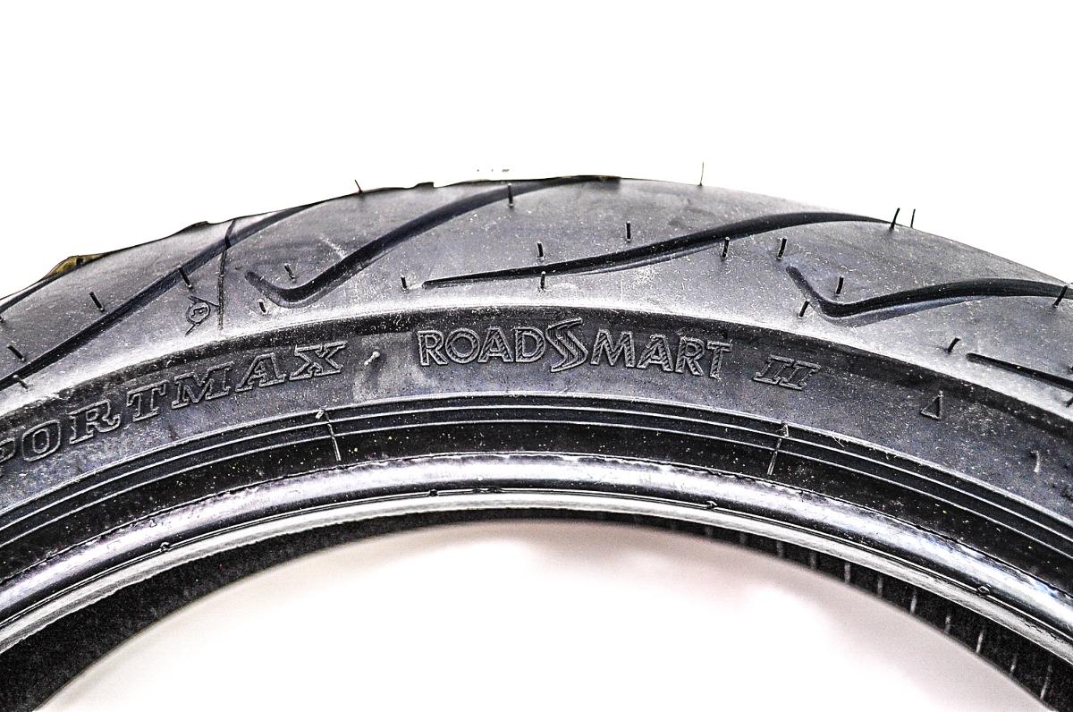 dunlop roadsmart ii front tire 120 70zr 17 tl 58w 30rs75. Black Bedroom Furniture Sets. Home Design Ideas