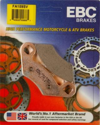 EBC SV Sintered Severe-Duty Brake Pads   MotorcycleParts2U