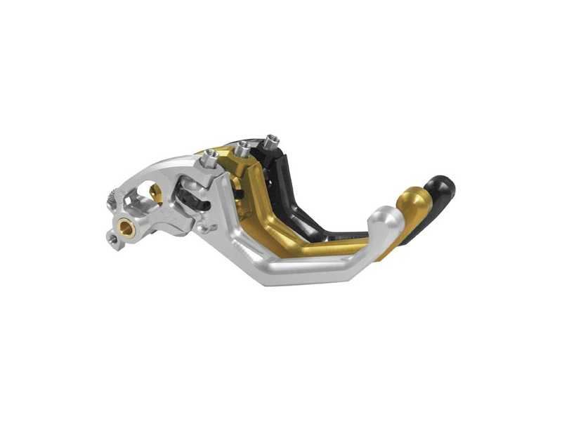 Gilles Tooling Gold X-Treme Levers GT Short Clutch Lever