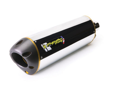 Two Brothers V.A.L.E. Slip-On Exhaust System - M-2 Aluminum