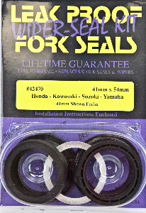 Leak Proof Pro-Moly Fork Seals and Wiper Seals Kit