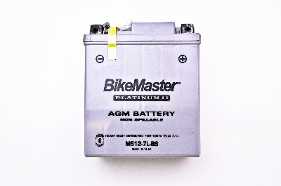 BikeMaster AGM Platinum II Factory Activated Maintenace Free Battery