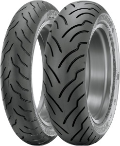 Dunlop American Elite Front & Rear Tire Set 130/60B-19 & 180/65B-16