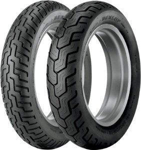 Dunlop D404 Front & Rear Tire Set 120/90-18 & 170/80-15