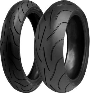Michelin Pilot Power 2CT Front & Rear Tire Set