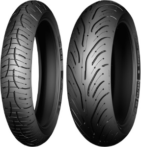Michelin Pilot Road 4 GT Front & Rear Tire Set