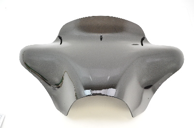 "Memphis Shades Batwing Fairing with 5"" Black Windshield"